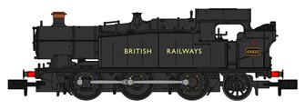 Class 56xx BR Unlined Black (British Railways Lettering) 0-6-2 Tank Locomotive No.6602